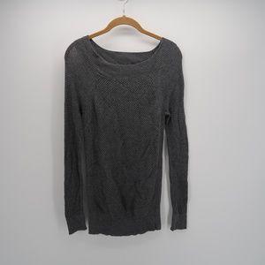 Ann Taylor LOFT Long Slv Knit Pullover Sweater Top